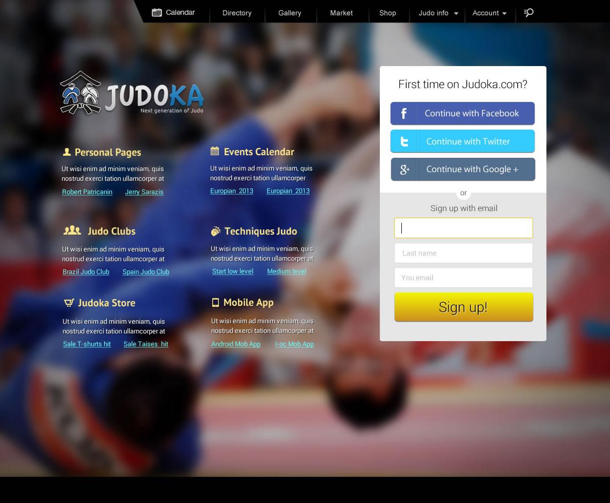 judo social network